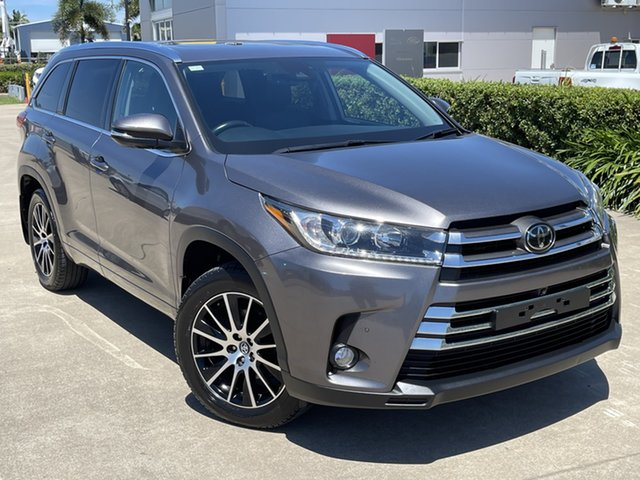 Used Toyota Kluger GSU55R Grande AWD Townsville, 2018 Toyota Kluger GSU55R Grande AWD Grey/191218 8 Speed Sports Automatic Wagon