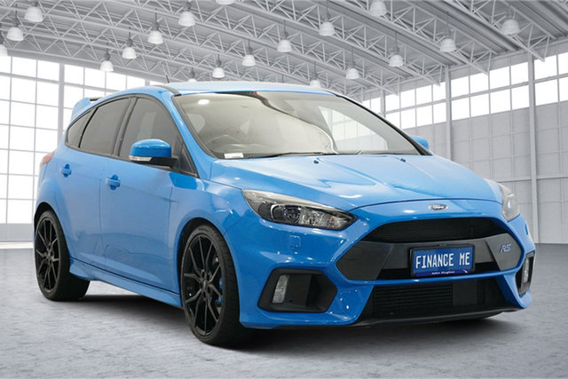 Used Ford Focus LZ RS AWD Victoria Park, 2016 Ford Focus LZ RS AWD Blue 6 Speed Manual Hatchback