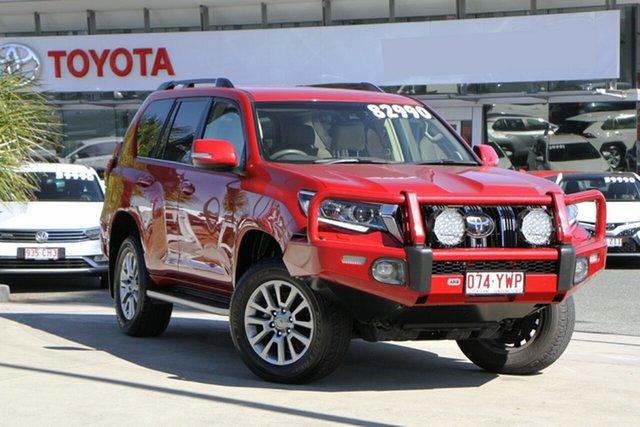 Pre-Owned Toyota Landcruiser Prado GDJ150R VX North Lakes, 2019 Toyota Landcruiser Prado GDJ150R VX Wildfire 6 Speed Sports Automatic Wagon
