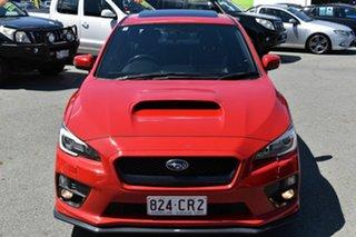 2014 Subaru WRX MY15 Premium (AWD) Red 6 Speed Manual Sedan.