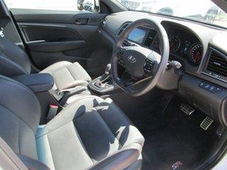 2017 Hyundai Elantra AD MY18 SR DCT Turbo White 7 Speed Sports Automatic Dual Clutch Sedan