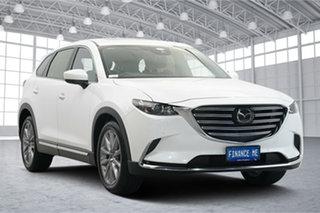 2020 Mazda CX-9 TC GT SKYACTIV-Drive White 6 Speed Sports Automatic Wagon.