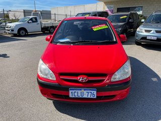 2007 Hyundai Getz TB Upgrade 1.6 Red 5 Speed Manual Hatchback.