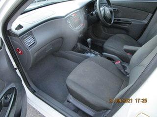 2010 Kia Rio JB MY10 SI White 4 Speed Automatic Sedan