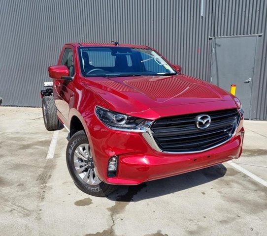 New Mazda BT-50 TFS40J XT Mornington, 2021 Mazda BT-50 TFS40J XT Red Volcano 6 Speed Sports Automatic Cab Chassis