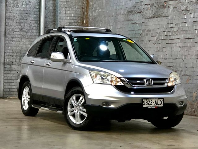 Used Honda CR-V RE MY2010 Luxury 4WD Mile End South, 2010 Honda CR-V RE MY2010 Luxury 4WD Silver 5 Speed Automatic Wagon