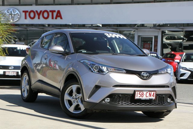 Pre-Owned Toyota C-HR NGX10R S-CVT 2WD North Lakes, 2019 Toyota C-HR NGX10R S-CVT 2WD Shadow Platinum 7 Speed Constant Variable Wagon