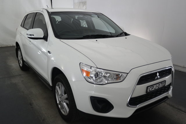 Used Mitsubishi ASX XB MY13 2WD Maryville, 2013 Mitsubishi ASX XB MY13 2WD White 6 Speed Constant Variable Wagon