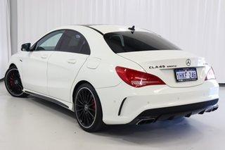 2013 Mercedes-Benz CLA-Class C117 CLA45 AMG SPEEDSHIFT DCT 4MATIC White 7 Speed.
