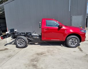 2021 Mazda BT-50 TFS40J XT Red Volcano 6 Speed Sports Automatic Cab Chassis.