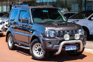2013 Suzuki Jimny SN413 T6 Sierra Grey 5 Speed Manual Hardtop.
