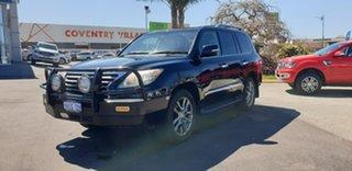 2013 Lexus LX URJ201R LX570 Black 6 Speed Sports Automatic Wagon.