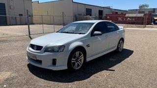 2007 Holden Commodore VE SV6 White 5 Speed Automatic Sedan