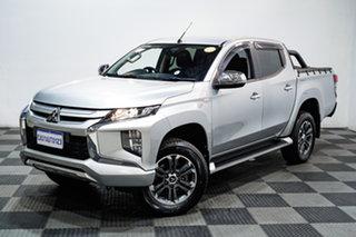 2020 Mitsubishi Triton MR MY20 GLX (4x4) Silver 6 Speed Automatic Double Cab Pick Up.