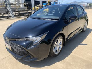 2018 Toyota Corolla ZRE182R Ascent Sport S-CVT Black 7 Speed Constant Variable Hatchback