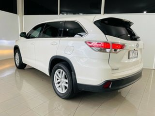 2015 Toyota Kluger GSU50R GX 2WD White 6 Speed Sports Automatic Wagon.