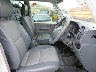2016 Toyota Landcruiser VDJ79R Workmate White 5 Speed Manual Dual Cab