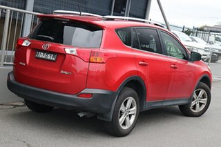 2014 Toyota RAV4 ZSA42R MY14 GXL 2WD Red 7 Speed Constant Variable Wagon.