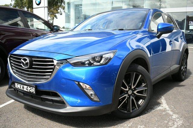Used Mazda CX-3 DK S Touring (AWD) Brookvale, 2015 Mazda CX-3 DK S Touring (AWD) Blue 6 Speed Automatic Wagon