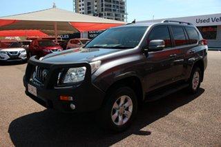 2012 Toyota Landcruiser Prado KDJ150R GXL Graphite 5 Speed Sports Automatic Wagon.