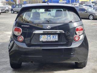 2016 Holden Barina TM MY16 CD Black 6 Speed Automatic Hatchback