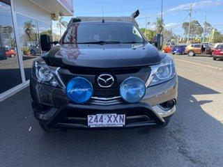 2017 Mazda BT-50 UR0YG1 XT Freestyle 4x2 Hi-Rider Bronze 6 Speed Sports Automatic Cab Chassis