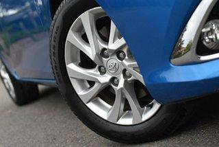 2016 Toyota Corolla ZWE186R Hybrid E-CVT Blue 1 Speed Constant Variable Hatchback Hybrid