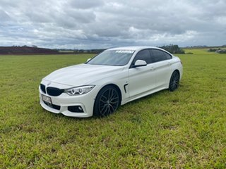 2016 BMW 430i F36 MY16.5 Gran Coupe M Sport White 8 Speed Automatic Coupe