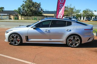 2018 Kia Stinger CK MY18 GT Fastback Silver 8 Speed Sports Automatic Sedan.