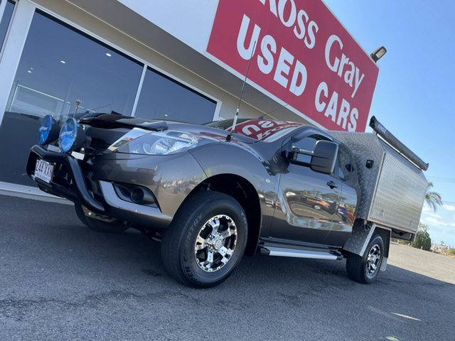 Used Mazda BT-50 UR0YG1 XT Freestyle 4x2 Hi-Rider Bundaberg, 2017 Mazda BT-50 UR0YG1 XT Freestyle 4x2 Hi-Rider Bronze 6 Speed Sports Automatic Cab Chassis