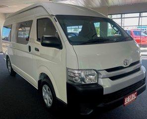 2015 Toyota HiAce KDH221R High Roof Super LWB White 4 Speed Automatic Van.