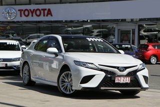2019 Toyota Camry ASV70R SL Frosted White 6 Speed Sports Automatic Sedan.