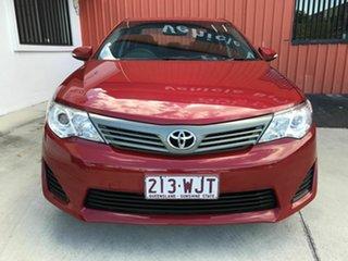 2013 Toyota Camry ASV50R Altise Red 6 Speed Sports Automatic Sedan.