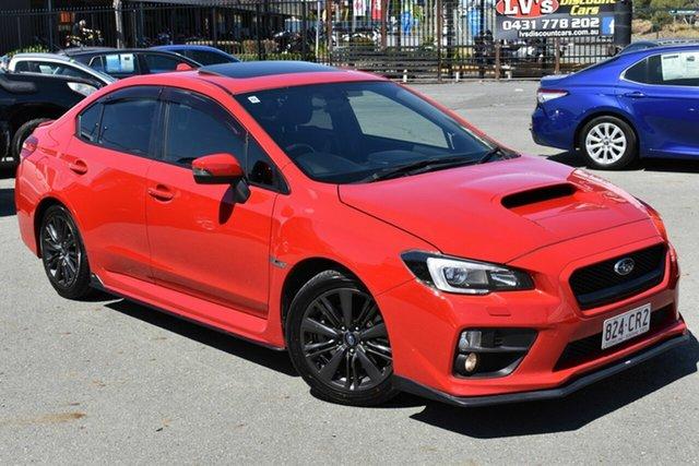 Used Subaru WRX MY15 Premium (AWD) Underwood, 2014 Subaru WRX MY15 Premium (AWD) Red 6 Speed Manual Sedan