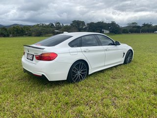 2016 BMW 430i F36 MY16.5 Gran Coupe M Sport White 8 Speed Automatic Coupe.
