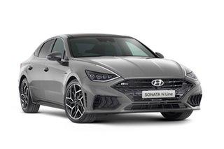 2021 Hyundai Sonata DN8.V1 MY21 N Line DCT Hampton Grey 8 Speed Automatic Sedan