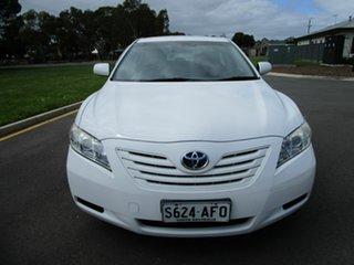 2008 Toyota Camry ACV40R 07 Upgrade Altise White 5 Speed Automatic Sedan.