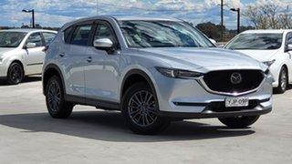 2020 Mazda CX-5 KF2W7A Maxx SKYACTIV-Drive FWD Sport Sonic Silver 6 Speed Sports Automatic Wagon.