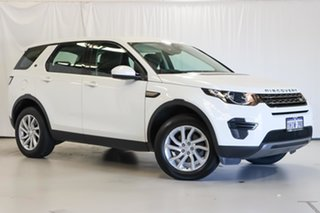 2017 Land Rover Discovery Sport L550 18MY SE White 9 Speed Sports Automatic Wagon.