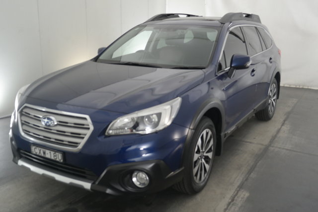 Used Subaru Outback B6A MY15 2.5i CVT AWD Premium Maryville, 2015 Subaru Outback B6A MY15 2.5i CVT AWD Premium Blue 6 Speed Constant Variable Wagon