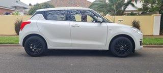 2019 Suzuki Swift AZ GL Navigator White 1 Speed Constant Variable Hatchback.