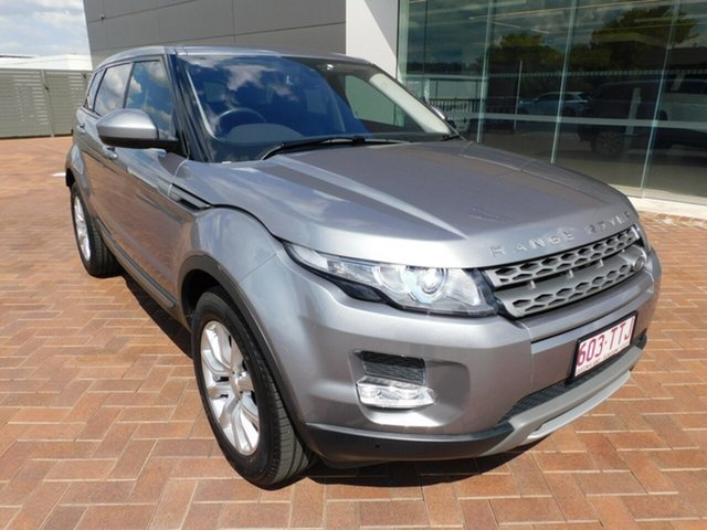 Used Land Rover Range Rover Evoque L538 MY14 TD4 Pure Toowoomba, 2014 Land Rover Range Rover Evoque L538 MY14 TD4 Pure Orkney Grey 9 Speed Sports Automatic Wagon