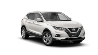 2021 Nissan Qashqai J11 Series 3 MY20 ST+ X-tronic Ivory Pearl 1 Speed Constant Variable Wagon