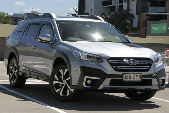 Demo Subaru Outback B7A MY21 AWD Touring CVT Indooroopilly, 2020 Subaru Outback B7A MY21 AWD Touring CVT Ice Silver 8 Speed Constant Variable Wagon