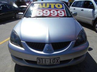 2004 Mitsubishi Lancer CH MY05 VR-X Silver 4 Speed Sports Automatic Sedan.
