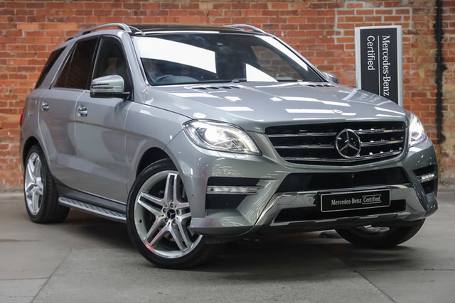 Certified Pre-Owned Mercedes-Benz M-Class W166 MY805 ML400 7G-Tronic + Mulgrave, 2014 Mercedes-Benz M-Class W166 MY805 ML400 7G-Tronic + Platinum Silver 7 Speed Sports Automatic