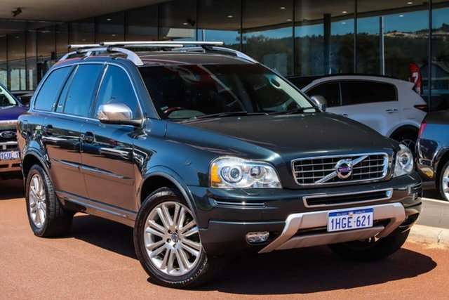 Used Volvo XC90 P28 MY12 D5 Geartronic Executive Gosnells, 2012 Volvo XC90 P28 MY12 D5 Geartronic Executive Grey 6 Speed Sports Automatic Wagon