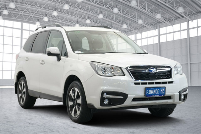 Used Subaru Forester S4 MY16 2.5i-L CVT AWD Victoria Park, 2016 Subaru Forester S4 MY16 2.5i-L CVT AWD Crystal White Pearl 6 Speed Constant Variable Wagon