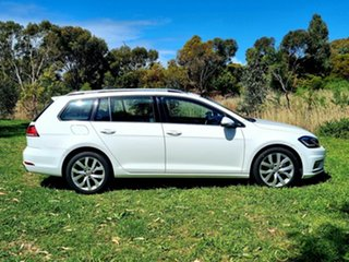 2019 Volkswagen Golf 7.5 MY19.5 110TSI DSG Highline White 7 Speed Sports Automatic Dual Clutch Wagon