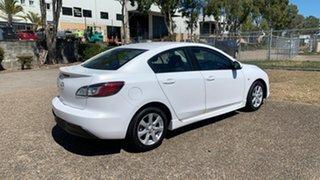 2010 Mazda 3 BL 10 Upgrade Maxx Sport White 5 Speed Automatic Sedan.